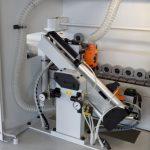 Вертикальная стыковая установка с 2 моторами @ 12.000 об / мин, фаска от 0 ° до 15 °