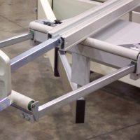 Выдвижное удлинение для поперечных фиксированных салазок