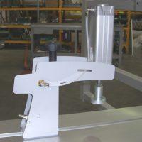 Пневматический прижим заготовки, рабочая высота 0-90 мм